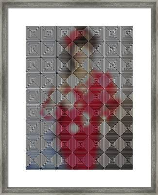 Hidden IImages Its All A Blur Framed Print by HollyWood Creation By linda zanini
