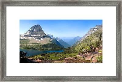 Hidden Lake Framed Print by Gregory G. Dimijian, M.D.