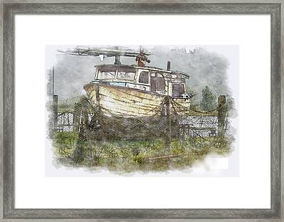 Hidden Treasure 2 Framed Print by Dale Stillman