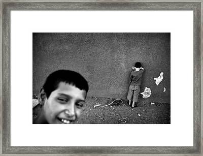 Hide And Seek Framed Print by Ilker Goksen