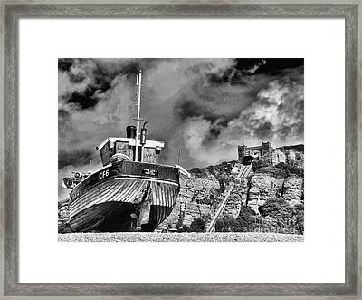 High And Dry 2 Framed Print by Graham Taylor