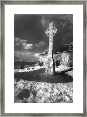 High Cross Framed Print by Simon Marsden