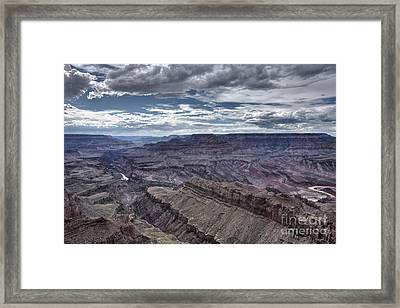 High Dynamic Range Image Of Grand Framed Print by Terry Moore