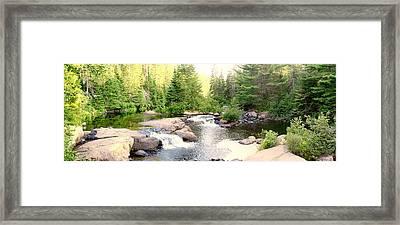 Highlander Trail Framed Print by Photography Art