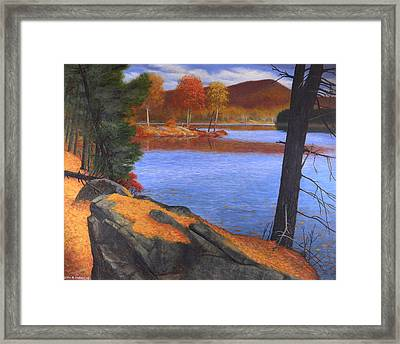 Highlands Octoberscape Framed Print by Glen Heberling