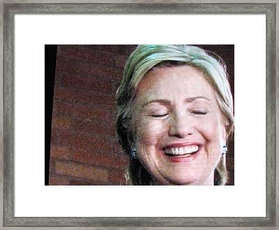 Hillary's Run Framed Print by Shawn Hughes