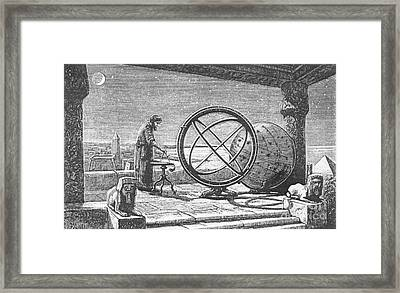 Hipparchus, Greek Astronomer Framed Print by Science Source