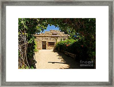 Historic Trading Post Framed Print by Bob and Nancy Kendrick