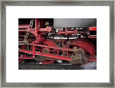 Historical Steam Train Framed Print by Heiko Koehrer-Wagner