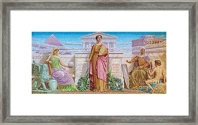 History Framed Print by Pg Reproductions