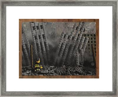 Hitting Home Framed Print by Josh Bernstein