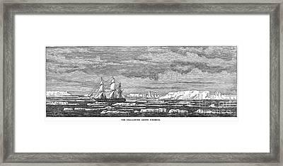 Hms Challenger, 1874 Framed Print by Granger