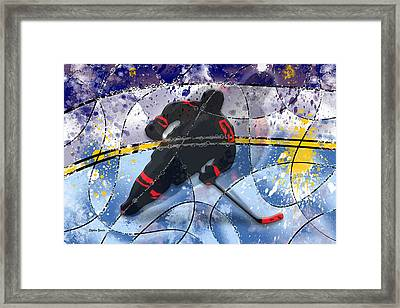 Hockey Framed Print by Stephen Younts