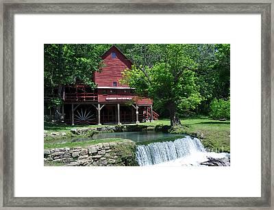 Hofgens Mill Framed Print by Marty Koch