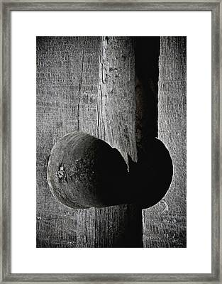 Hole Not Whole Framed Print by Odd Jeppesen