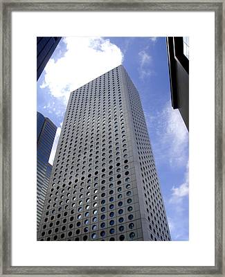 Hong Kong Framed Print featuring the photograph Hole Pattern by Roberto Alamino