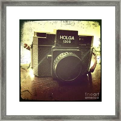 Holga Framed Print by Nina Prommer