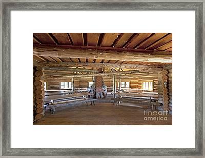 Holiday Resort Dining Room Framed Print by Jaak Nilson