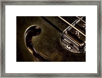 Hollow Body Framed Print by Scott Norris