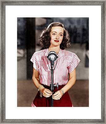 Hollywood Canteen, Bette Davis, 1944 Framed Print by Everett