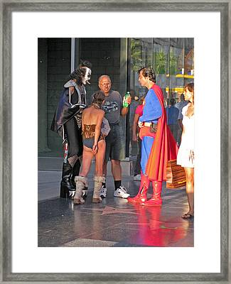 Hollywood Life Framed Print by Rod Jones
