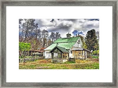 Holmes County Farm Framed Print by Tom Schmidt