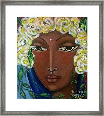 Holy Heart Of Hawaii Framed Print by Maya Telford