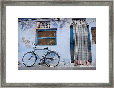 Home Framed Print by Jen Bodendorfer