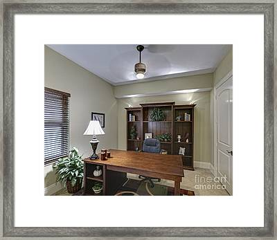 Home Office Framed Print by Skip Nall