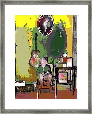 Home Sweet Home Framed Print by Charles Shoup