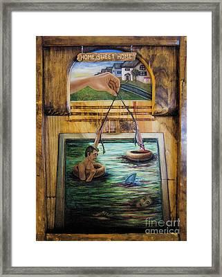Home Sweet Home Framed Print by Dawn Graham