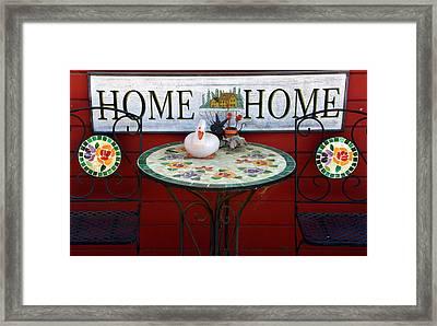 Home Sweet Home Framed Print by Jeff Lowe