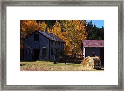 Home Sweet Home Framed Print by Terril Heilman