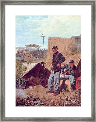 Home Sweet Home Framed Print by Winslow Homer