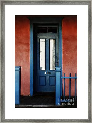 Homecoming Blues Framed Print by Tamara Pruessner
