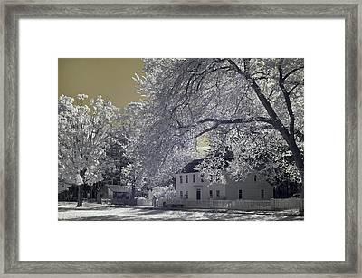 Homestead Framed Print by Joann Vitali