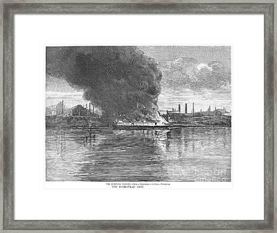 Homestead Strike, 1892 Framed Print by Granger