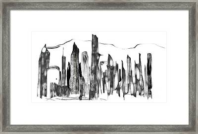 Hong Kong Framed Print by Michael Canning