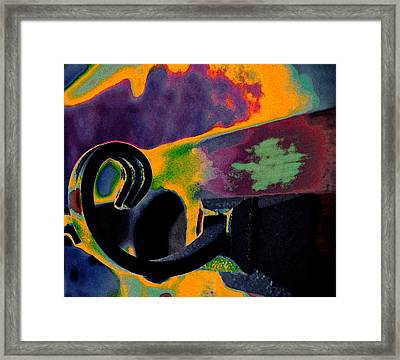 Hooked Framed Print by Molly McPherson