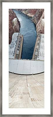 Hoover Dam Panorama Framed Print by Twenty Two North Photography