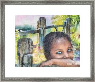 Hope Framed Print by Mo T