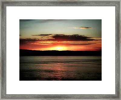 Hope On The Horizon Framed Print by Kevin D Davis