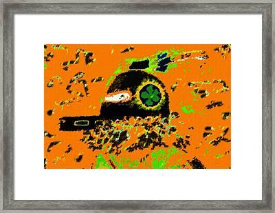 Hopi Kachina Work Number 4 Framed Print by David Lee Thompson