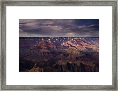 Hopi Point Framed Print by Andrew Soundarajan