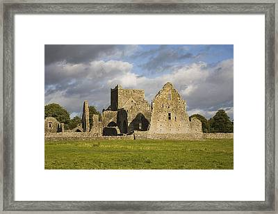Hore Abbey, Cashel, County Tipperary Framed Print by Richard Cummins