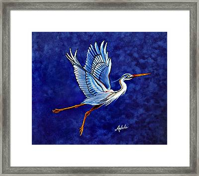 Horeshio's 2nd Arabesque Framed Print by Adele Moscaritolo