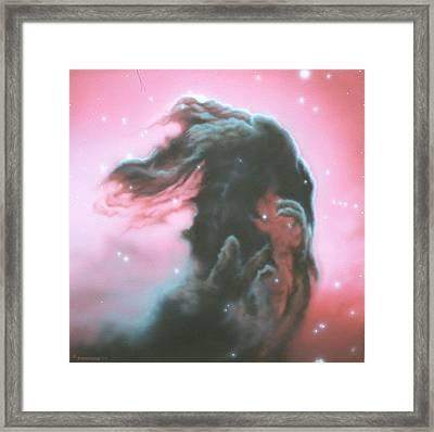 Horsehead Nebulea Framed Print by Arley Blankenship