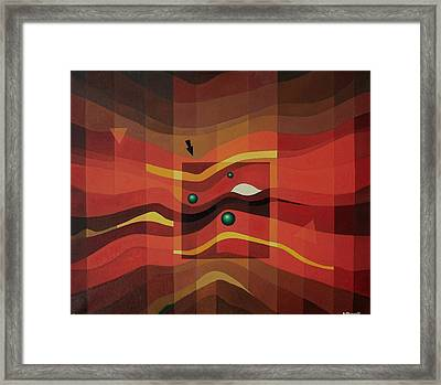 Horus Eye Framed Print by Alberto D-Assumpcao