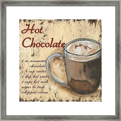 Hot Chocolate Framed Print by Debbie DeWitt