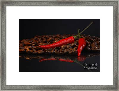 Hot Coffee Framed Print by Tanja Riedel